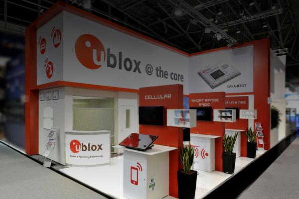 cellular module with LTE chipset from u-blox